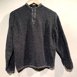 EVC Woolrich Wool Quarter Zip - Hiking Pullover